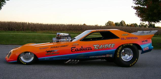 Al Hanna, Eastern Raider Funny Car