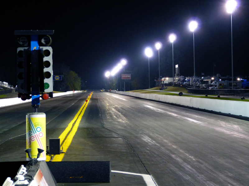 When did Maple Grove Raceway first open?